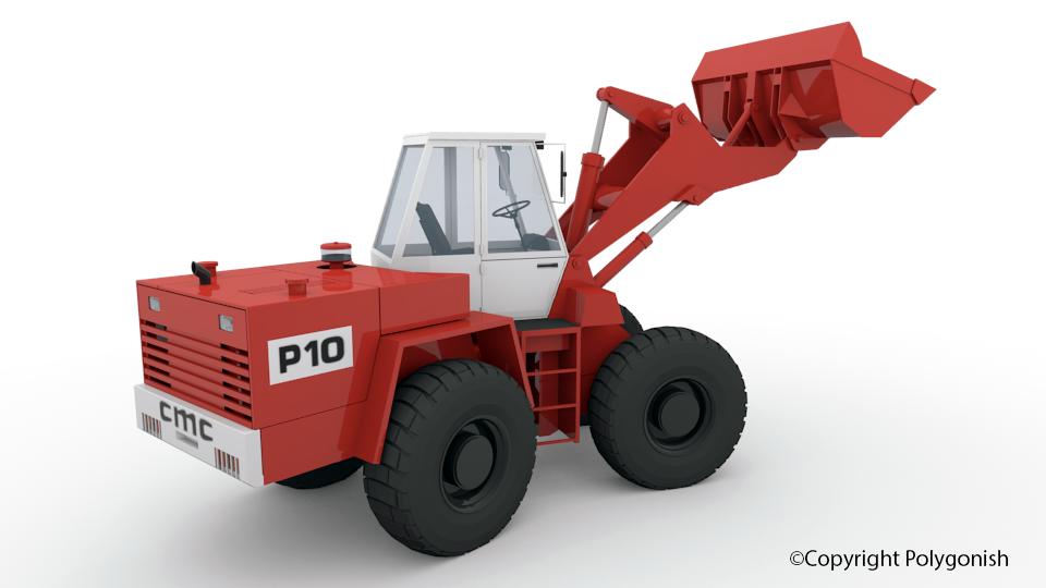 Poclain P10 3D Model