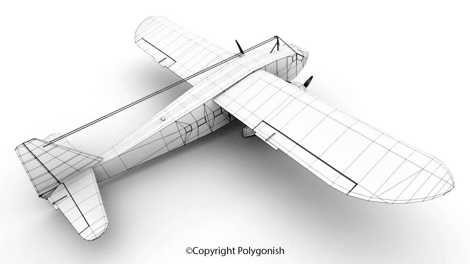 Potez 650 3D Model