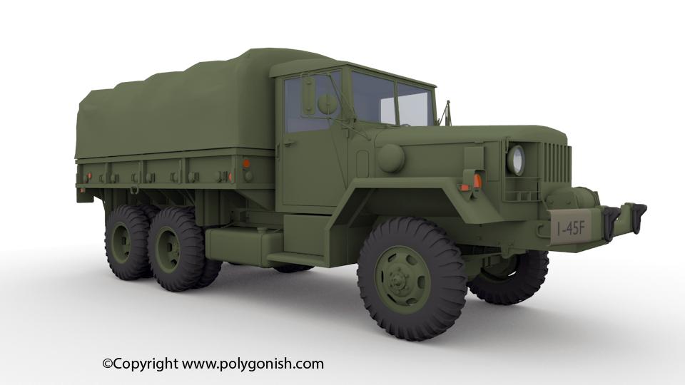 M35 3D Model