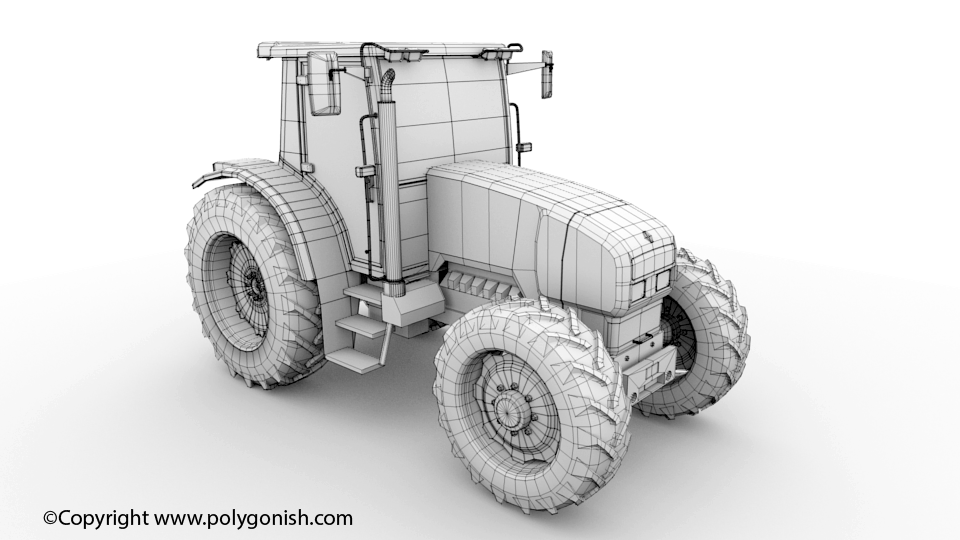 Renault Ares 620 3D Model