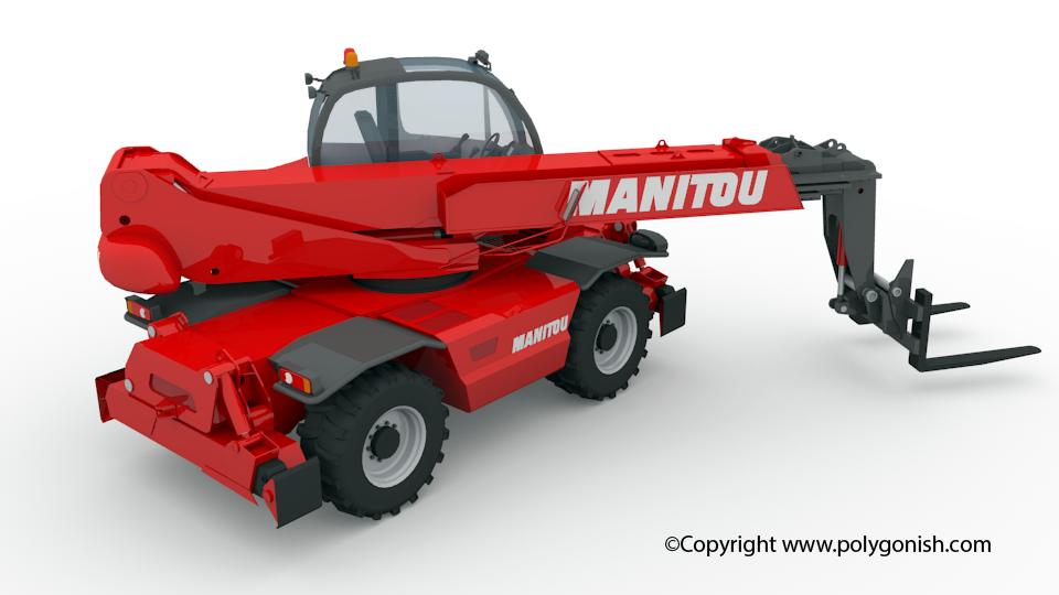 Manitou MRT 2550 3D Model