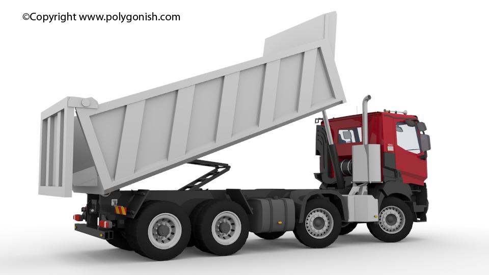 Renault K 440 Truck 3D Model