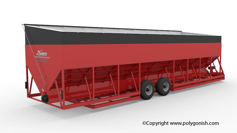 Demco Harvest Link 3D Model