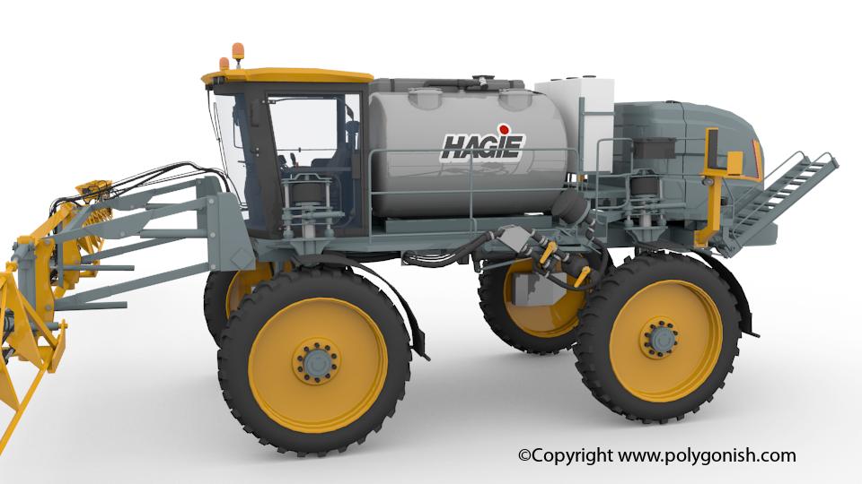 Hagie STS 16 3D Model