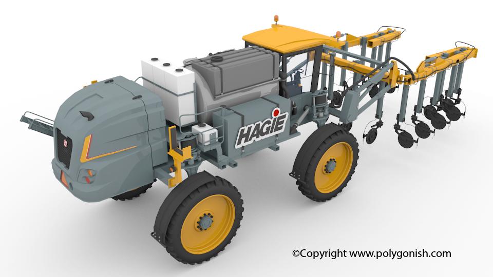 Hagie STS 16 NTB 3D Model