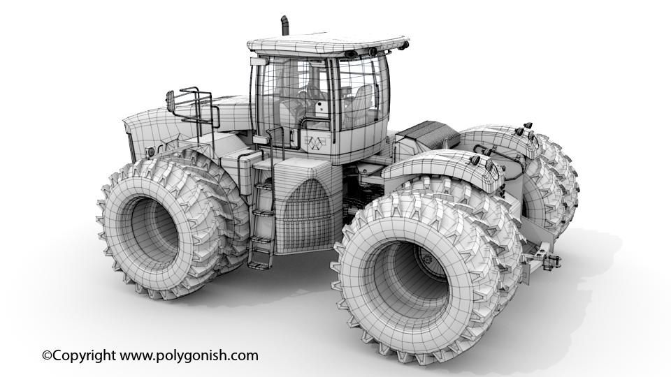Versatile 500 3D Model