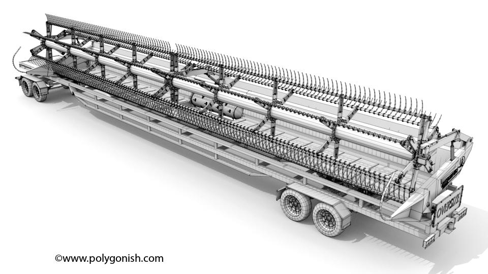 Midwest Durus Quantum 60ft 3D Model