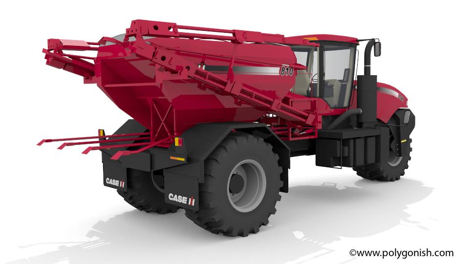 CaseIH 3540 Titan 3D Model