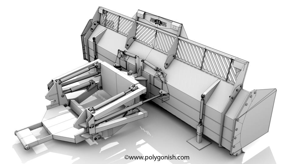 Pitbull Blade 4060HD 3D Model