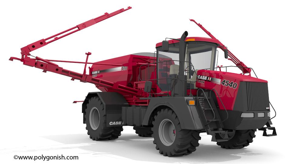 CaseIH 4540 Titan 3D Model