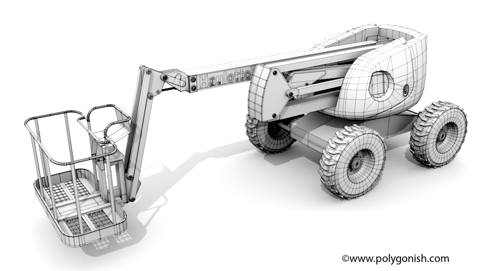 Haulotte HA51 3D Model