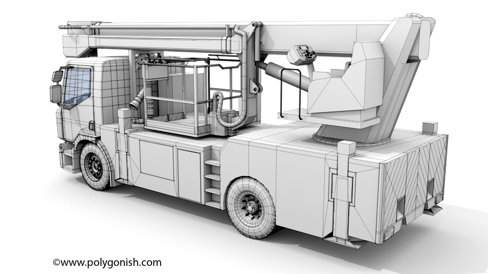 Renault Premium Lander - BEA 33 3D Model