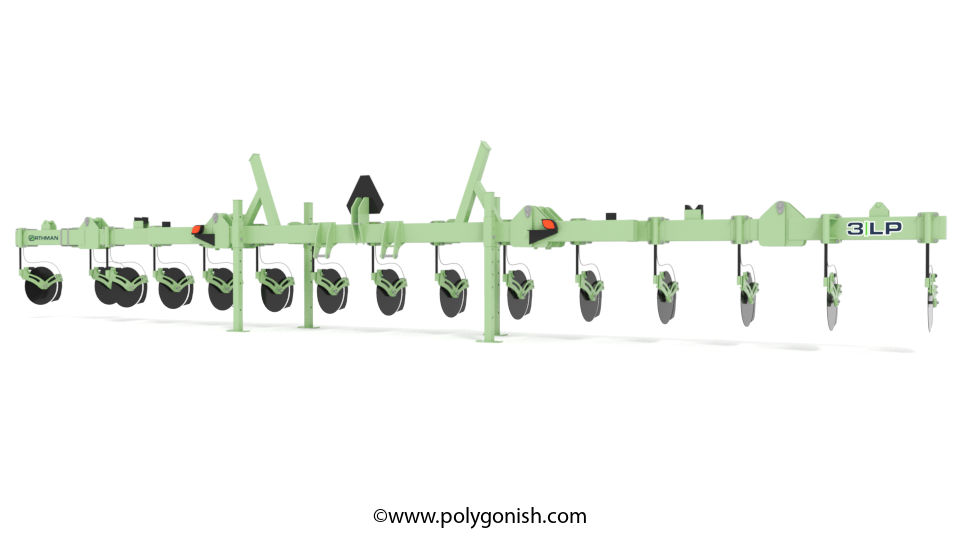 Orthman 3LP liquid fertilizer 3D Model