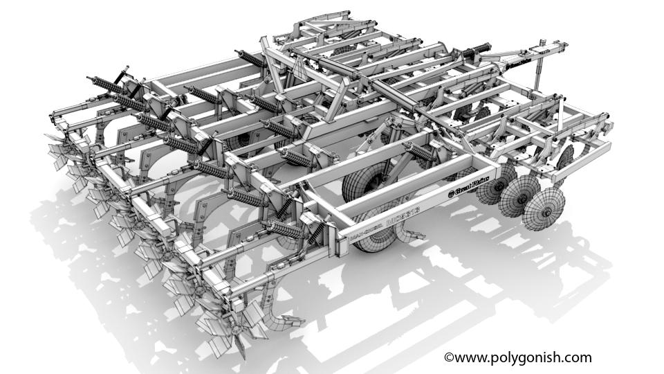 Great Plains MC5313 3D Model