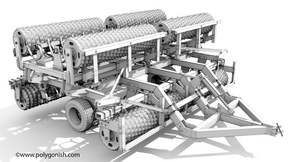 Brillion WM360 3D Model