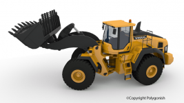 Volvo L250H Wheel Loader 3D Model