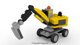 Lego 31014 Creator 3D Model