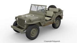 Willys MB 3D Model