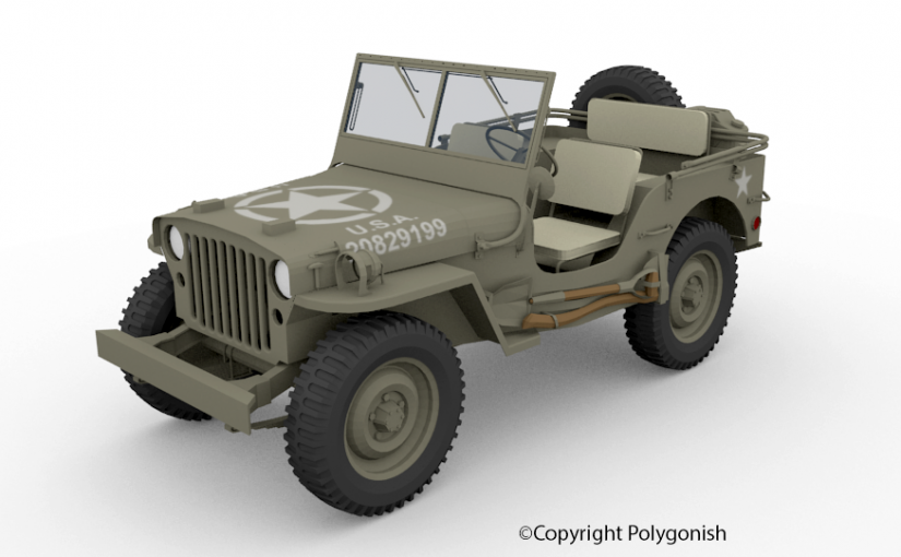 Willys MB 3D Model