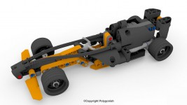Lego Champion Racer F1 3D Model