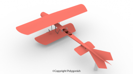 Coanda-1910 Airplane 3D Model