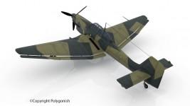 Junkers Ju 87 3D Model
