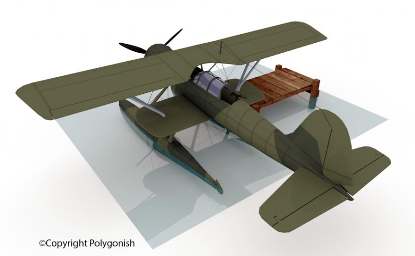 Heinkel He 114 3D Model
