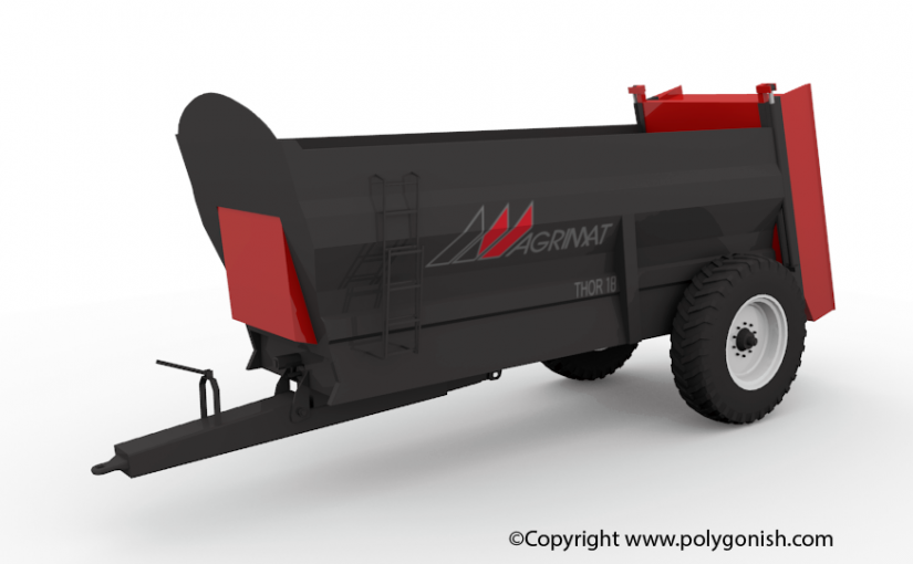 Agrimat Thor 18 3D Model