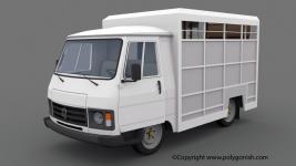 Peugeot J9 Bétaillère 3D Model