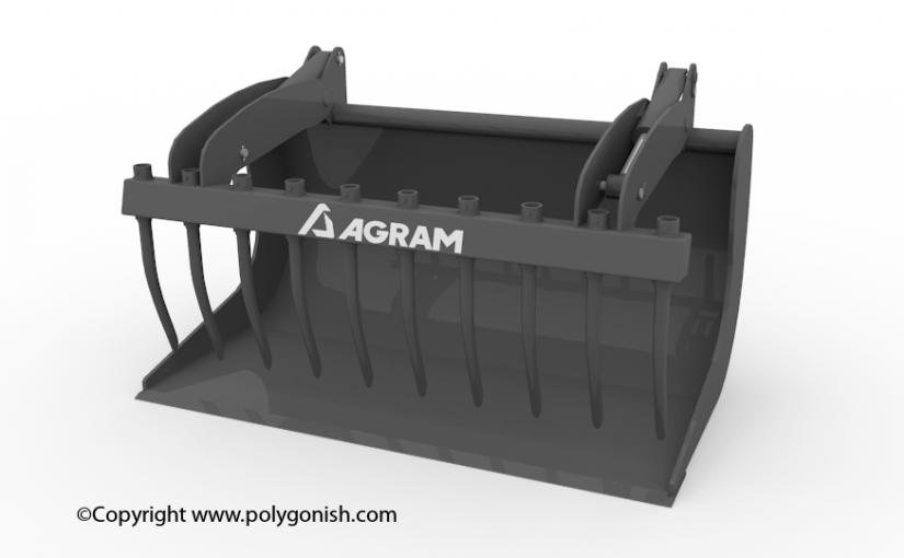 Gram Hydrogriffe 3D Model