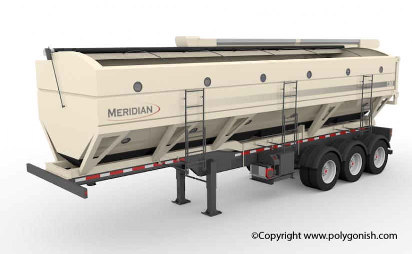 Meridian Seed Express 1260 3D Model