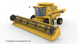 New Holland TR99 Combine Harvesters