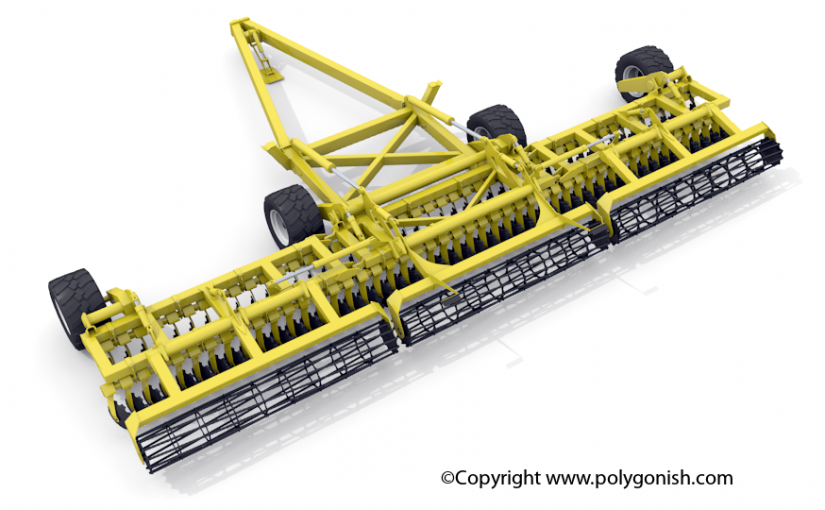 Degelman PRO-TILL 40 3D Model