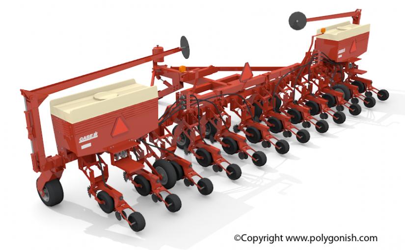 CASE IH 955 Planter 3D Model