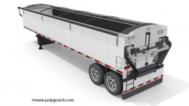 Aulick Aluminator Belt Trailer 3D Model