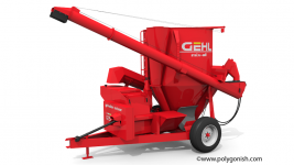 Gehl Mix-all 125 Grinder Mixer 3D Model