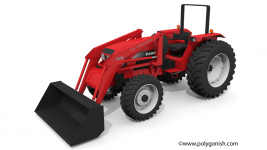 Case IH 4230 Tractor 3D Model