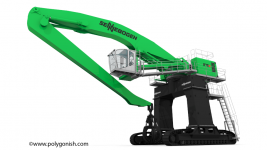 Sennebogen 875 Crawler Gantry 3D Model