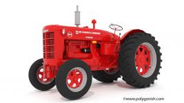 Farmall W-9 Tractor 3D Model