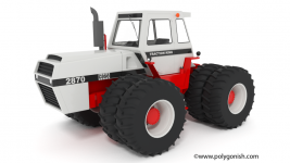 J.I. Case 2870 Traction King 3D Model
