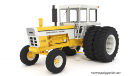 Minneapolis-Moline G1355 Tractor 3D Model