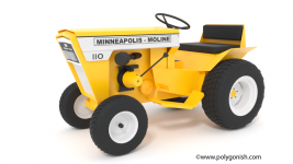 Minneapolis Moline 110 3D Model