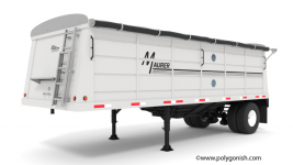 Maurer Grain Trailer 24' 3D Model