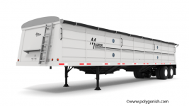 Maurer Grain Trailer 42' 3D Model