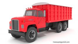3D Model Case IH 1600 Grain Truck