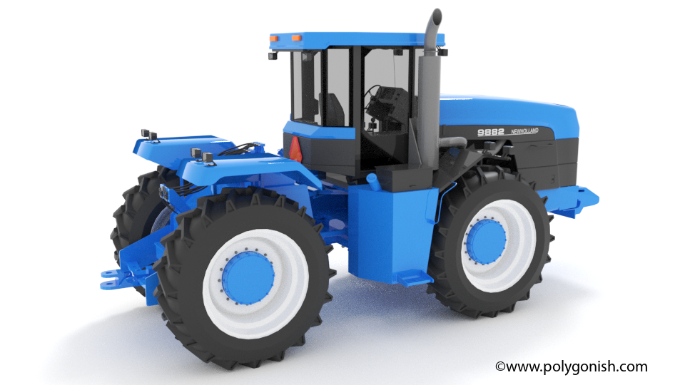 New Holland 9882 3D Model