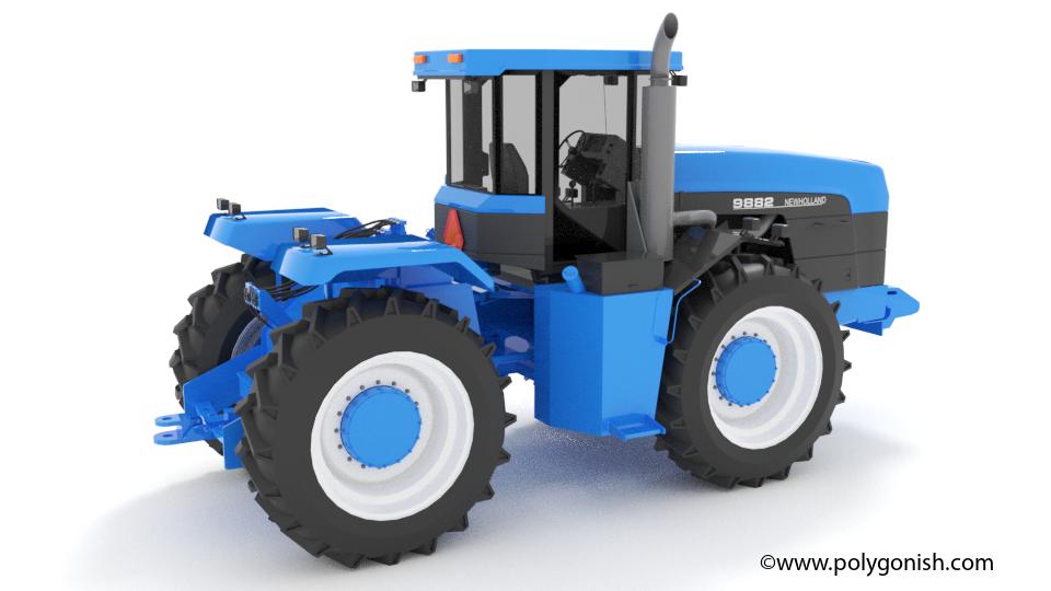 New Holland 9882 3D Model