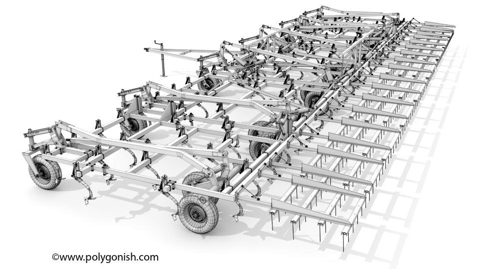 Wil-Rich QX2 60ft 3D Model