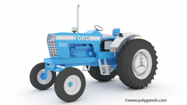 Ford 9600 Open station