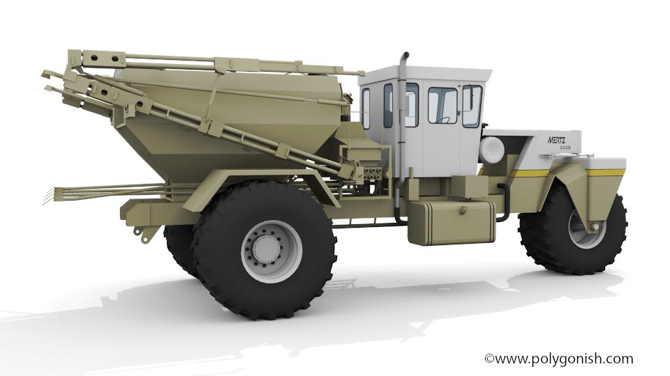Mertz 3250 3D Model
